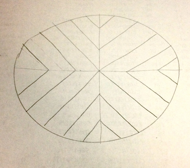 table pattern sketch